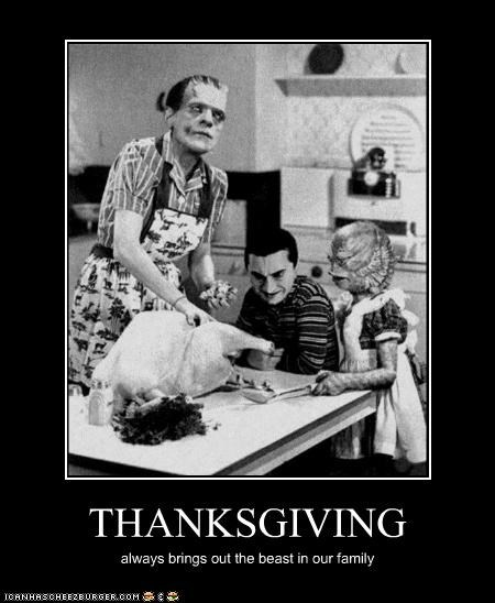 frankenstein monster stuffing thanksgiving Turkey