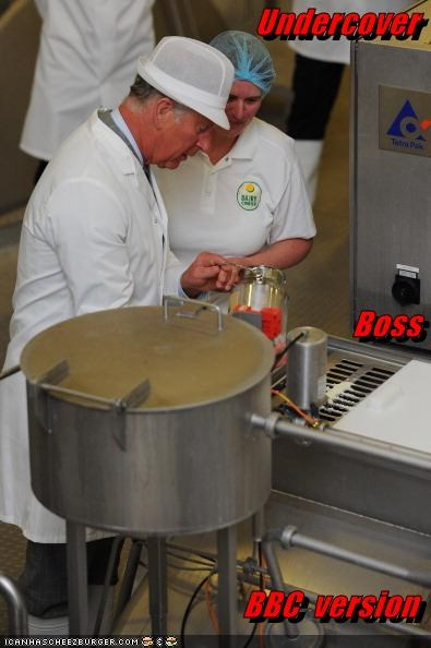 political pictures prince charles undercover boss - 4967974912