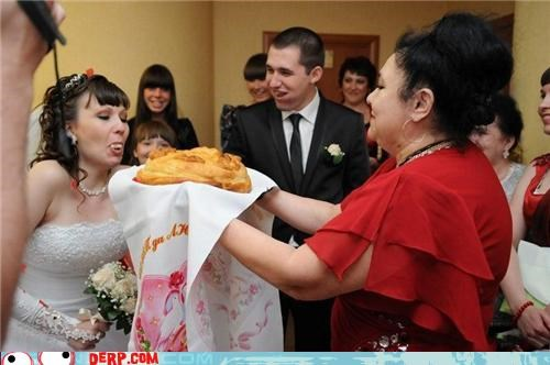bride cake derp feed wedding
