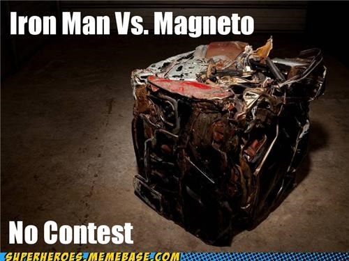 fight iron man Magneto no contest Super-Lols - 4969020160