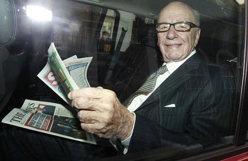 Breaking News News of the World Phone Hacking Affair Rupert Murdoch - 4969046528