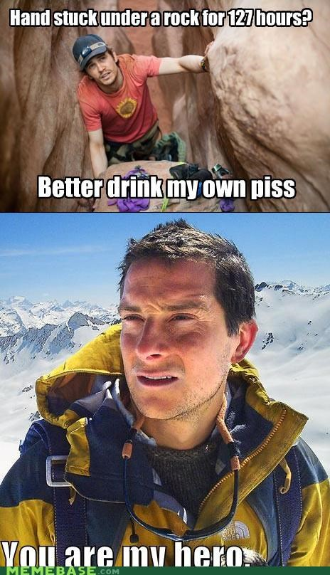 127 Hours,arm,bear grylls,hero,James Franco,movies