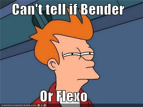 Can't tell if Bender Or Flexo