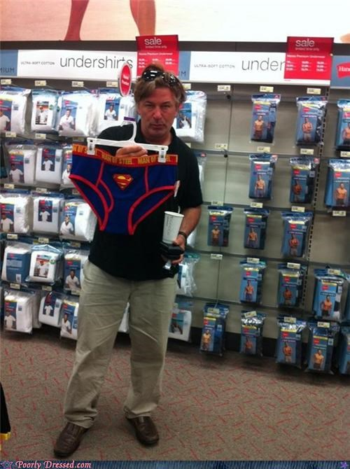 alec baldwin,superman,underwear
