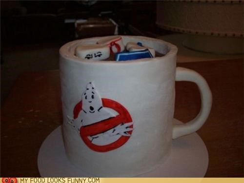 cake ghost busters marshmallow Movie mug stay puft