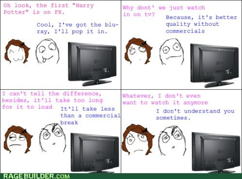 DVD,Harry Potter,Rage Comics,television