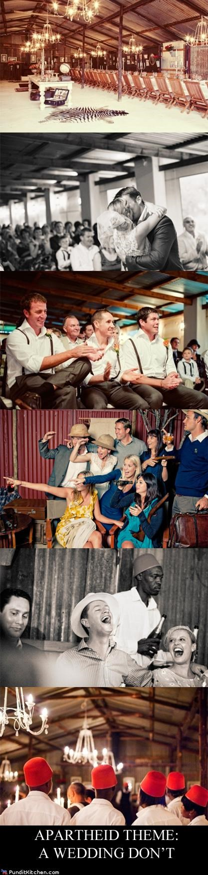 colonial africa,FAIL,funny wedding photos,racist wedding