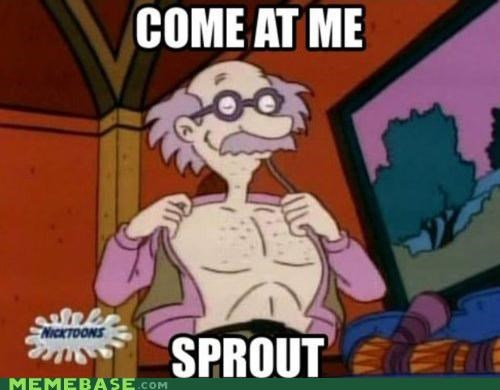Grandpa Memes Nicktoons pickles rugrats sprout - 4969794048