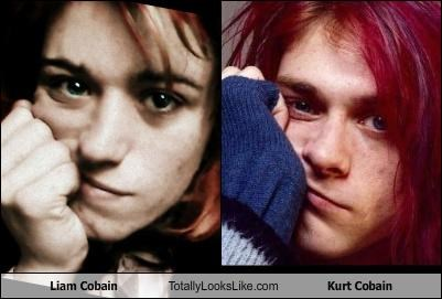 grunge,kurt cobain,Liam Cobain,musicians,musicians who are not good,who