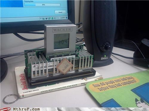 clock power processor