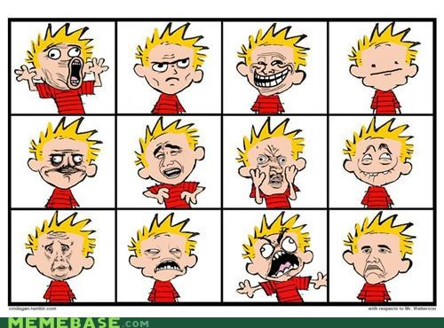 boink calvin faces fffuuu hobbes rage Rage Comics scientific progress