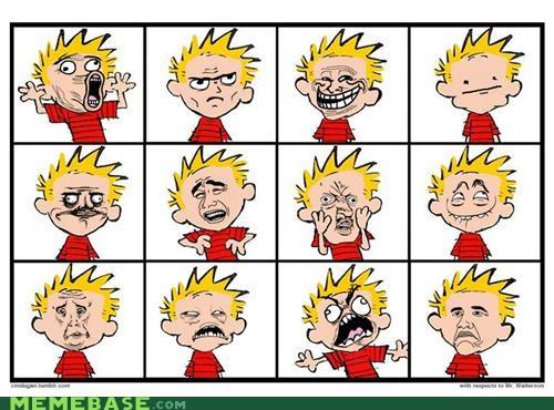 boink calvin faces fffuuu hobbes rage Rage Comics scientific progress - 4970038016