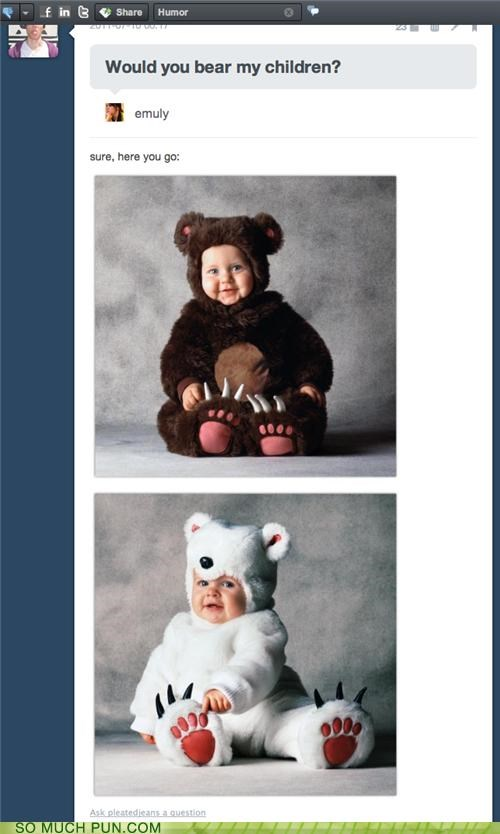 answer,bare,bear,children,homophone,literalism,question,tumblr