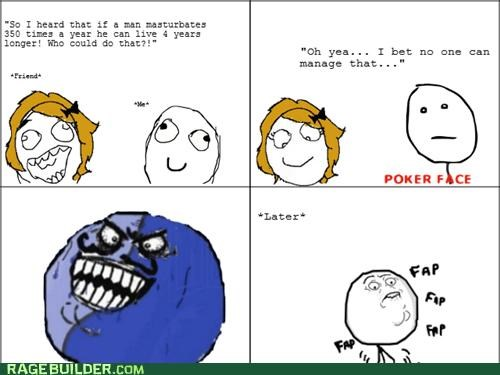 faptimes i lied poker face Rage Comics - 4970139392