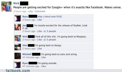 google,myspace,witty reply,xanga,xkcd