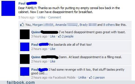 breakfast emotions family witty reply - 4970220544