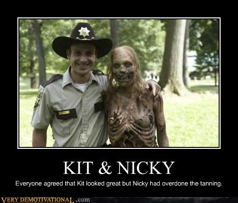 agreed hilarious kit nicky undead The Walking Dead zombie