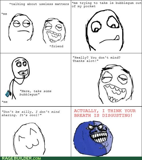 breath gum i lied Rage Comics - 4970534144