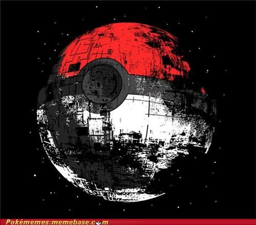 Death Star,pokeball,star wars
