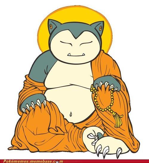 buddha monk snorlax sun - 4970537984