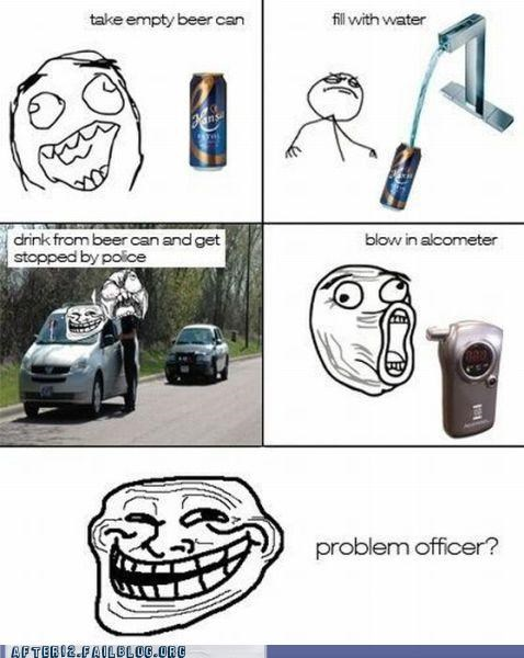 beer can drunk driving rage comic - 4970584320