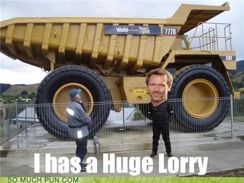 britishism,diagnosis,double meaning,house,hugh laurie,literalism,lorry,lupus,similar sounding