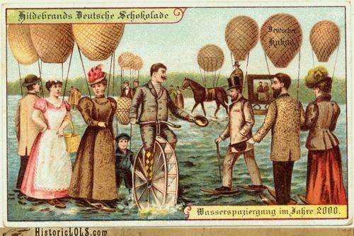 color future photo collection postcards predictions vintage - 4970793216