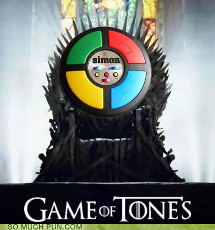 a game of thrones,font,game,george r r martin,literalism,novel,rhyming,show,similar sounding,thrones,title,tones