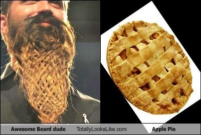 apple pie,awesome beard dude,beard,braided,braids