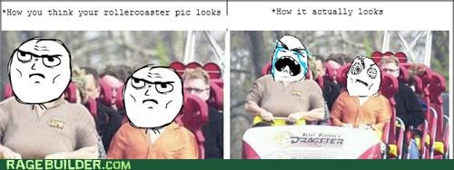 fear how you think it looks i got this Rage Comics roller coaster - 4971474176
