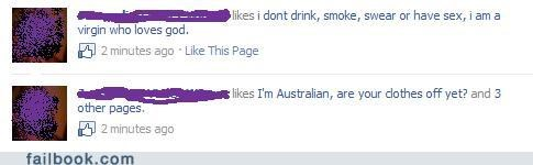 god drinking australian smoking christianity