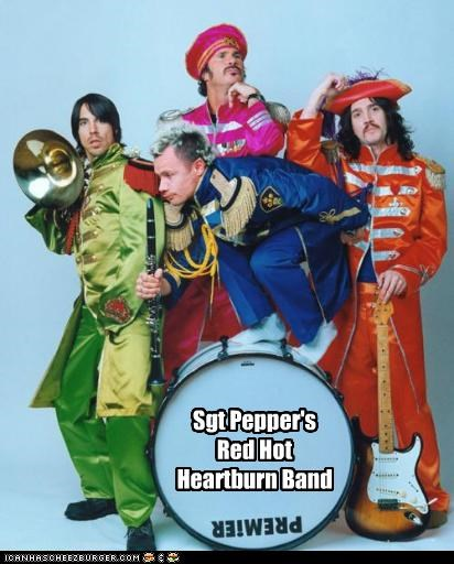 celeb funny Music red hot chili peppers the Beatles - 4971969792