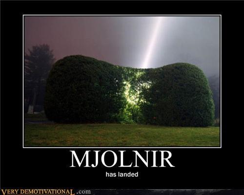 bush hilarious mjolnir - 4972343552