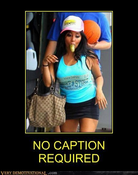 hilarious jersey shore no caption pickle snooki - 4972623872
