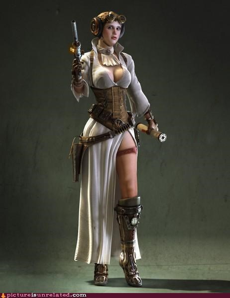 art,costume,leia,Steampunk,wtf