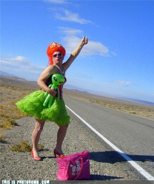 Aliens,area 51,costume,cross dressing,wtf