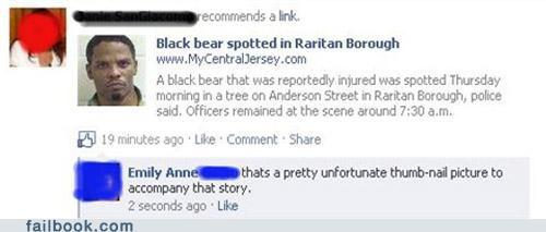 image oops racist