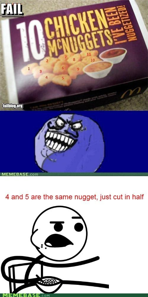 actually,cereal guy,half,i lied,nuggets,same