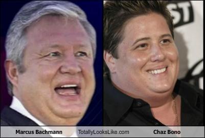 chaz bono Marcus Bachmann Michele Bachmann politics - 4973357568