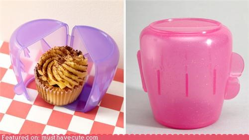 case cupcake holder protect snack