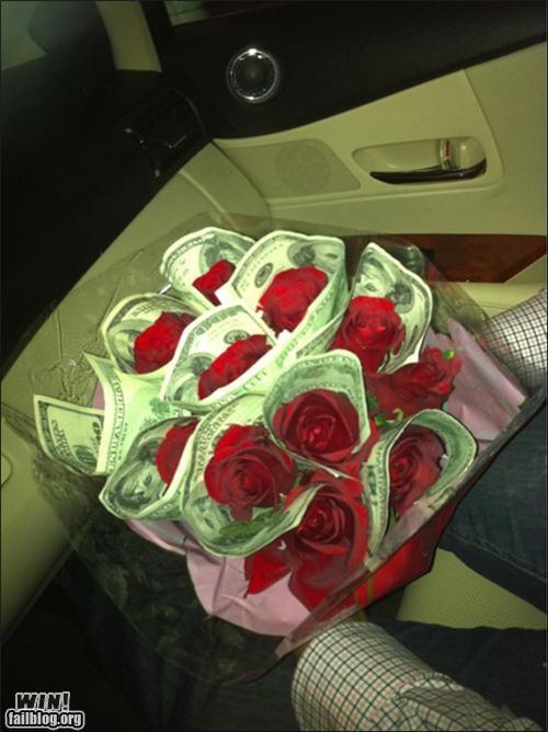 impressive money romantic roses superficial - 4973398272