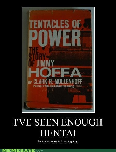 book,hilarious,japanese entertainment,jimmy hoffa,tentacles