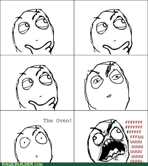 forgetting fu guy Rage Comics the oven - 4973597952