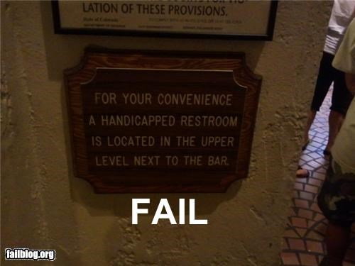 g rated handicapped signs spelling - 4973712384
