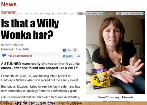chocolate,IRL,that looks naughty,willy