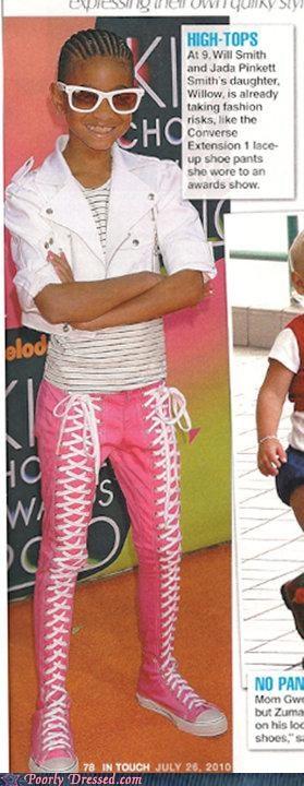 converse laces pants shoe pants willow smith - 4973978112