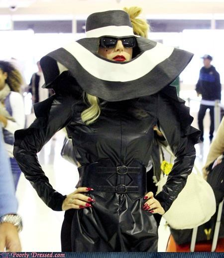 gaga,hat,lady gaga,shoes,testingzone