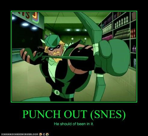 green arrow punchout Super-Lols video games - 4974254080