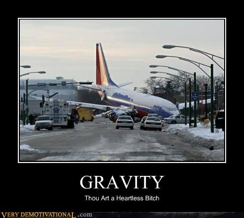 crash Gravity heartless plane Sad