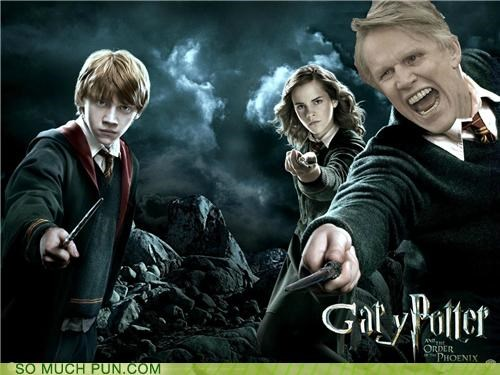 gary busey Harry Potter literalism patronus rhyme rhyming substance white